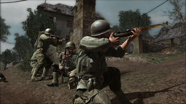 File:American soldeirs aiming CoD3.jpg