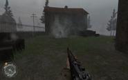 Zombie Nazi Approaching Hill 400 CoD2