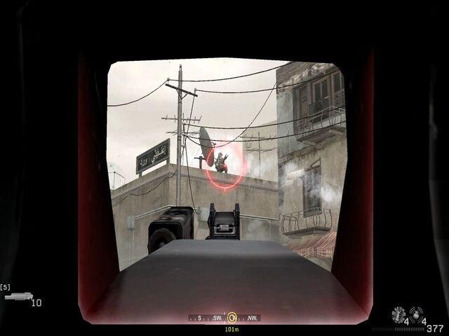 File:Taking out enemy RPG troop on rooftop War Pig CoD4.jpg