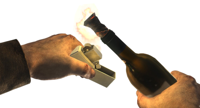 File:Molotov Cocktail igniting WaW.png
