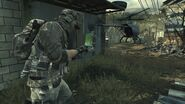 Player controlling a Recon Drone MW3