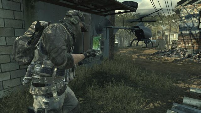 File:Player controlling a Recon Drone MW3.jpg
