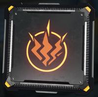 Electrostatic Strike cyber core icon BO3