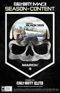 ELITE Poster Black Box MW3
