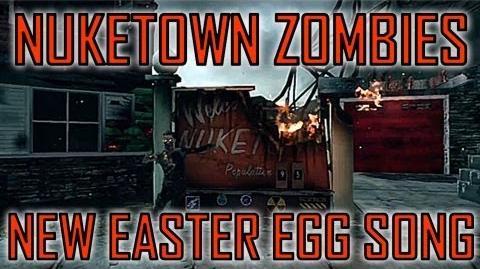 Black Ops 2 New Nuketown Zombies Easter Egg