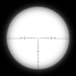 XPR-50 Scope Reticle BOII