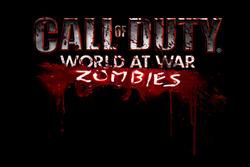 World At War Zombies Title