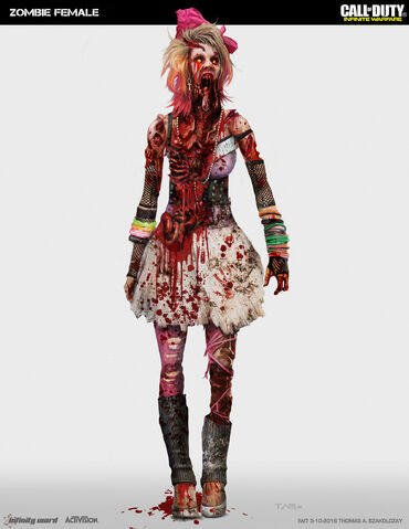 File:Female zombie concept IW.jpg