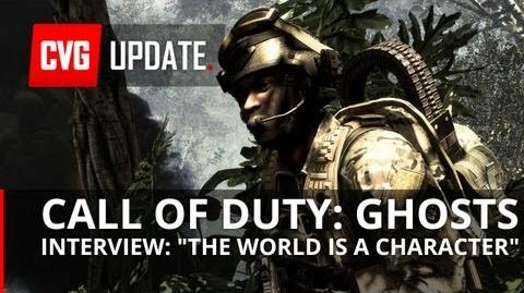 """NEW Call of Duty Ghosts Interview - """"The World is a Character"""""""