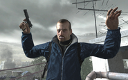 Victor Zakhaev before suicide COD4