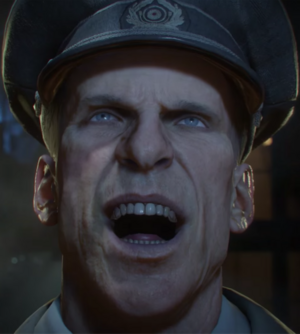 WWII Richtofen Laughing Closeup BO3