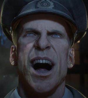 WWII Richtofen Laughing Closeup BO3