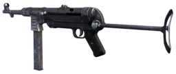 MP40 Third Person CoD3