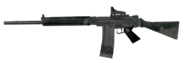 FAL Red Dot Sight 3rd person MW2