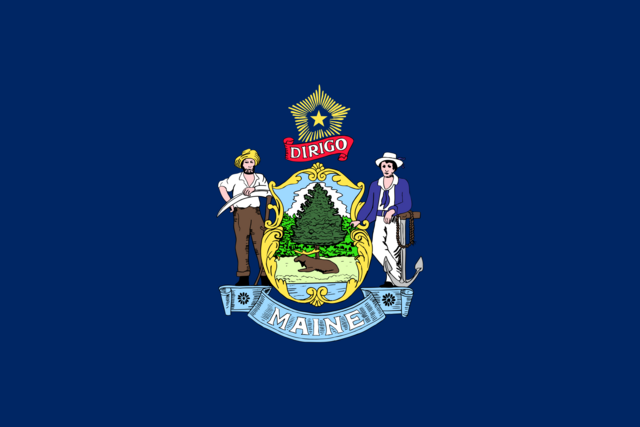 File:Personal RoachTheIntelCollector Flag of Maine.png