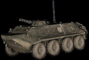 BTR-60 model BOII