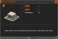 Bunker Level 1 Stats CoDH