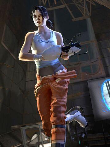 File:Chell Portal 2.jpg