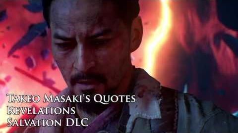 "Revelations - Takeo Masaki's quotes sound files (Black Ops III ""Salvation"" DLC)"