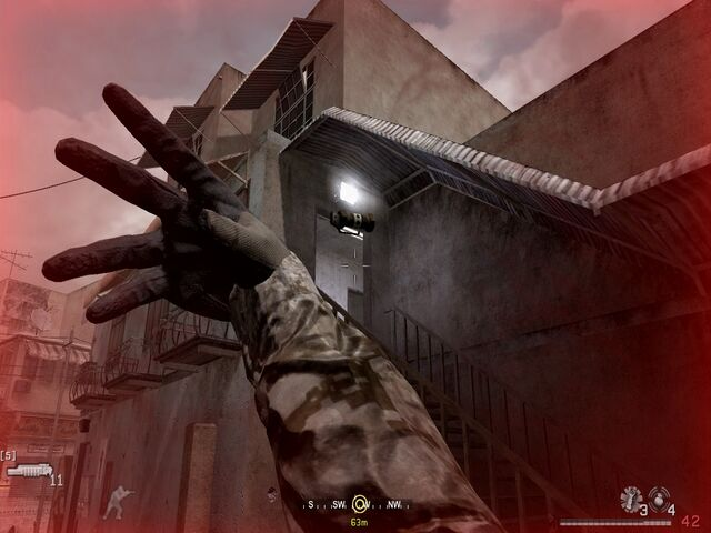 File:Throwing flashbang through side entrance War Pig CoD4.jpg