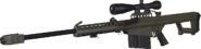 Barrett .50cal O.D. Green MWR