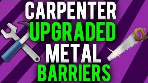 *NEW* Die Rise- How to Get Permanent Metal Barriers from Carpenter Drops!