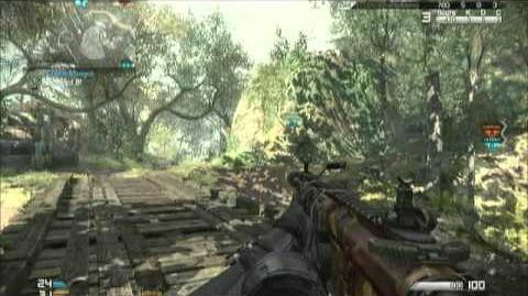 Call of Duty Ghosts M27 IAR Review Gameplay