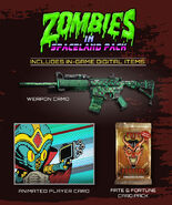 Zombies in Spaceland Bonus Pack Zombies IW