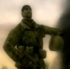Sgt Glenn Hawk Hawkins - helmet off