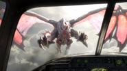 Gargoyle bursting through windscreen Exodus CoDG