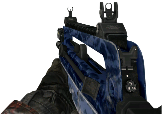 File:FAMAS Blue Tiger MW2.png