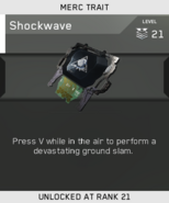 Shockwave Unlock Card IW