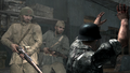 Soviet soldiers executing German prisoner Eviction WaW.png