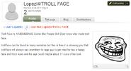 Lopez troll fail