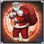 Santa Claus Pet Head