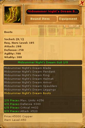 Midsummer Night's Dream Boots