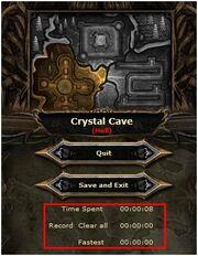 Timekeeping dungeon timer