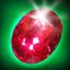 Christmas Red diamonds
