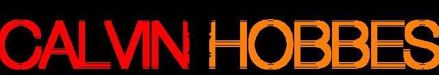 File:Calvin and Hobbes logo.png