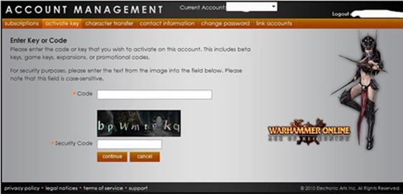 Account Management four