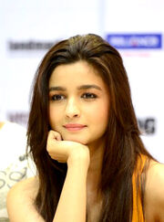 Alia Bhatt at the DVD launch of 'Highway' (cropped)