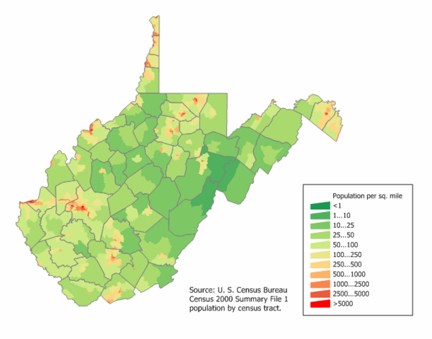 File:West Virginia population map.png