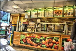 Subway Shop HDR by Melodysk