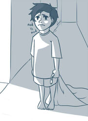 Percy as toddler