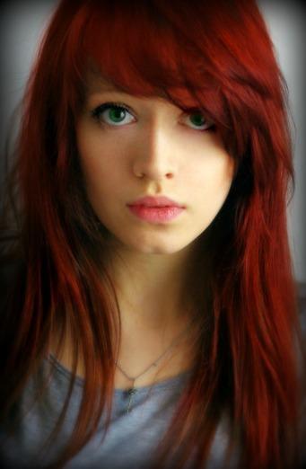 Image Auburn Hair Girl Green Eyes Red Hair Favimcom