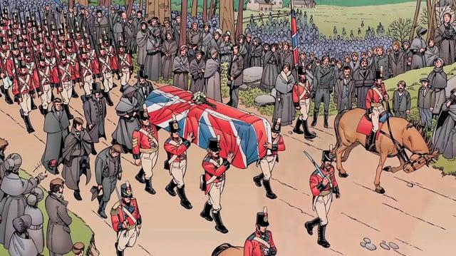 The Loxleys and the War of 1812 motion comic English language version