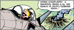Calvin the Fighter Pilot 2