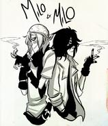 Milo and milo 2 by tsuinsuran-d6brcou