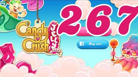 Candy Crush Jelly Saga Level 267 No Boosters