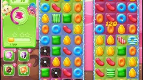 Candy Crush Jelly Saga Level 64 Hard Level NO BOOSTER